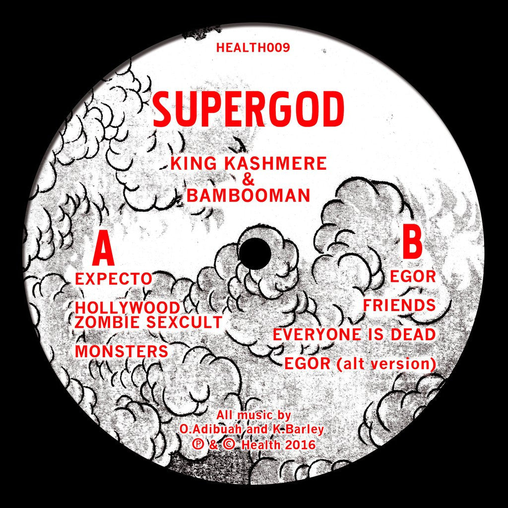 SUPERGOD (BAMBOOMAN & KING KASHMERE) - SUPERGOD (BAMBOOMAN & KING KASHMERE): Gatefold Music (Hitchin's Independent Record Shop - Vinyl Records and Accessories)