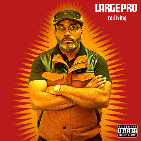 Large Pro - Re:Living: Gatefold Music (Hitchin's Independent Record Shop - Vinyl Records and Accessories)