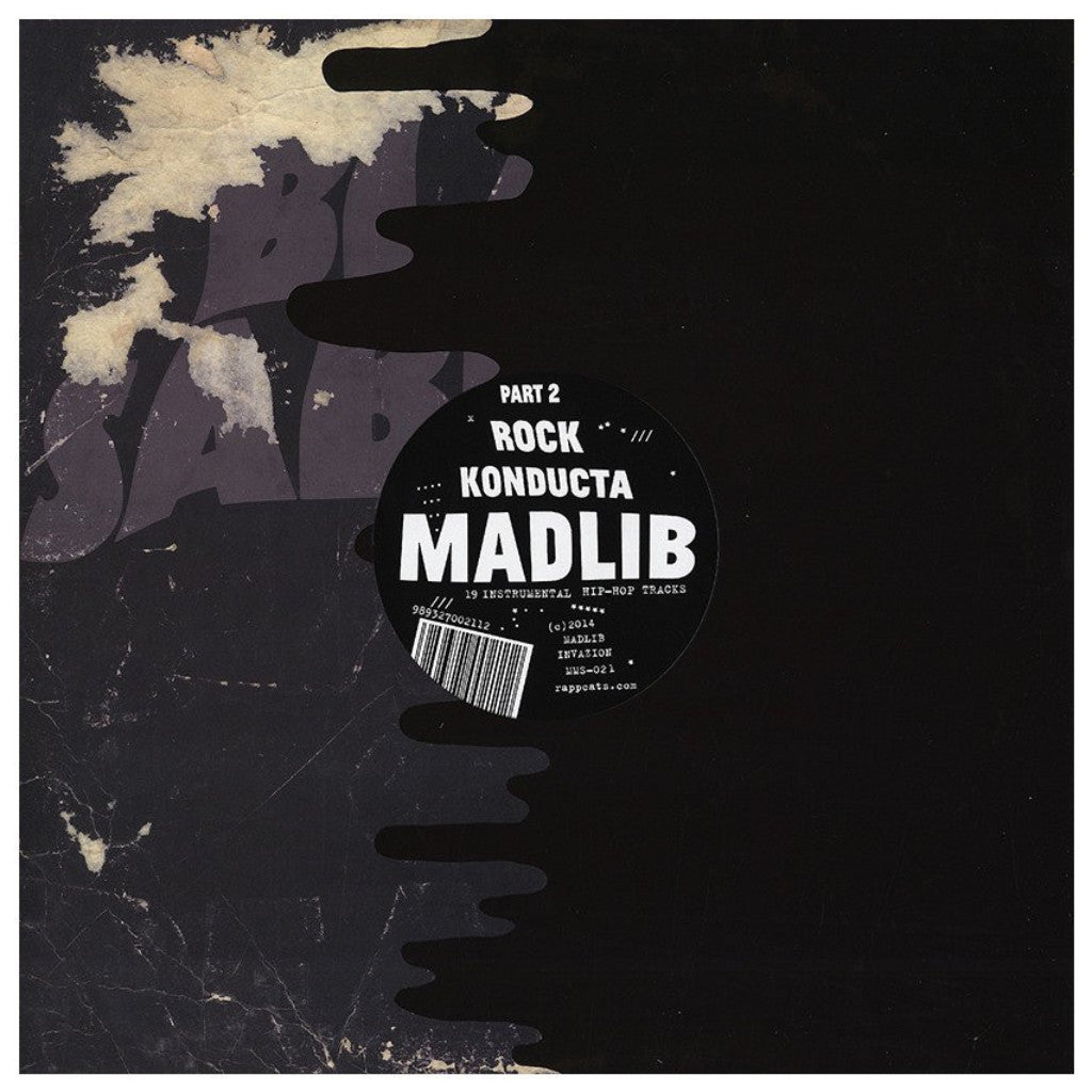 Madlib - Rock Konducta 2: Gatefold Music (Hitchin's Independent Record Shop - Vinyl Records and Accessories)