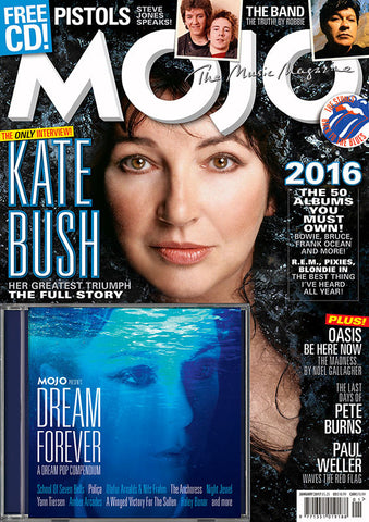 Mojo - Mojo Magazine January 2017: Gatefold Music (Hitchin's Independent Record Shop - Vinyl Records and Accessories)
