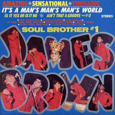 James Brown - It's A Man's Man's Man's World: Gatefold Music (Hitchin's Independent Record Shop - Vinyl Records and Accessories)