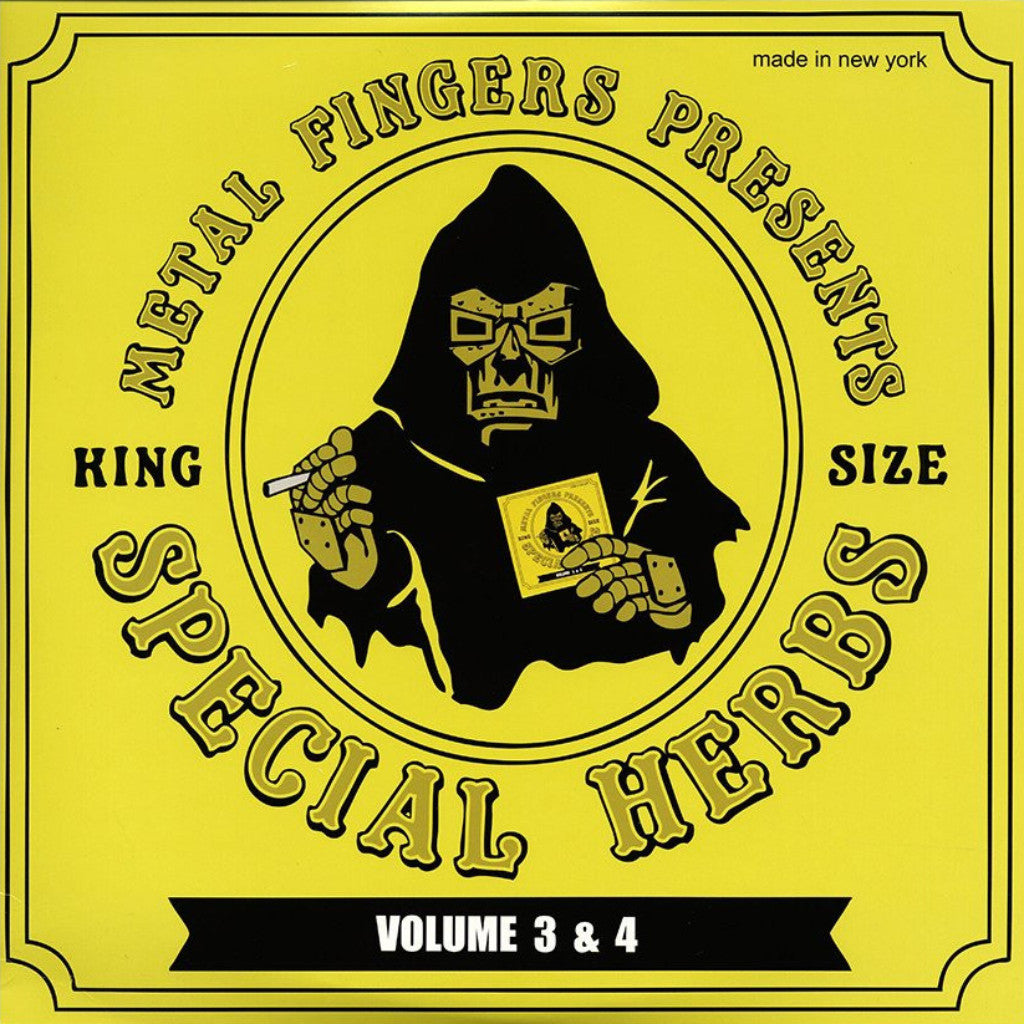MF Doom - Special Herbs Vol. 3&4: Gatefold Music (Hitchin's Independent Record Shop - Vinyl Records and Accessories)