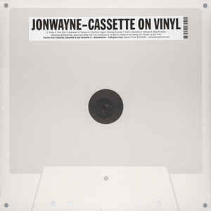 Jonwayne - Cassette On Vinyl: Gatefold Music (Hitchin's Independent Record Shop - Vinyl Records and Accessories)