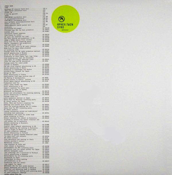 Aphex Twin - Syro: Gatefold Music (Hitchin's Independent Record Shop - Vinyl Records and Accessories)
