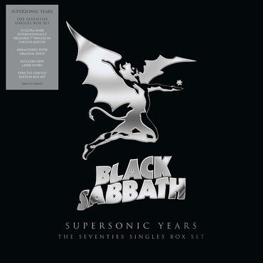 Black Sabbath Supersonic Years: The Seventies Singles Box Set