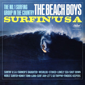 The Beach Boys - Surfin' USA: Gatefold Music (Hitchin's Independent Record Shop - Vinyl Records and Accessories)