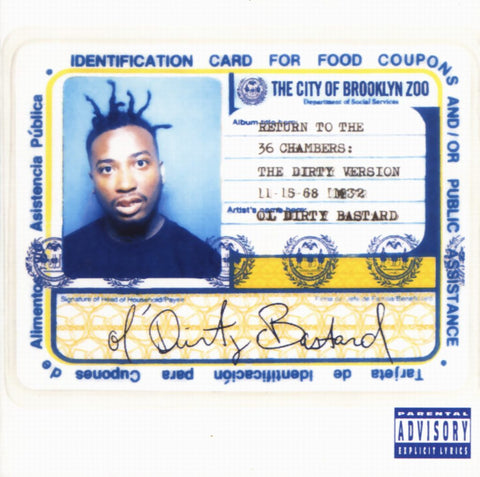 Ol' Dirty Bastard - Return To The 36 Chambers: Gatefold Music (Hitchin's Independent Record Shop - Vinyl Records and Accessories)