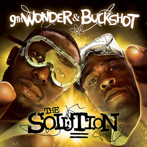 9th Wonder & Buckshot - The Solution: Gatefold Music (Hitchin's Independent Record Shop - Vinyl Records and Accessories)