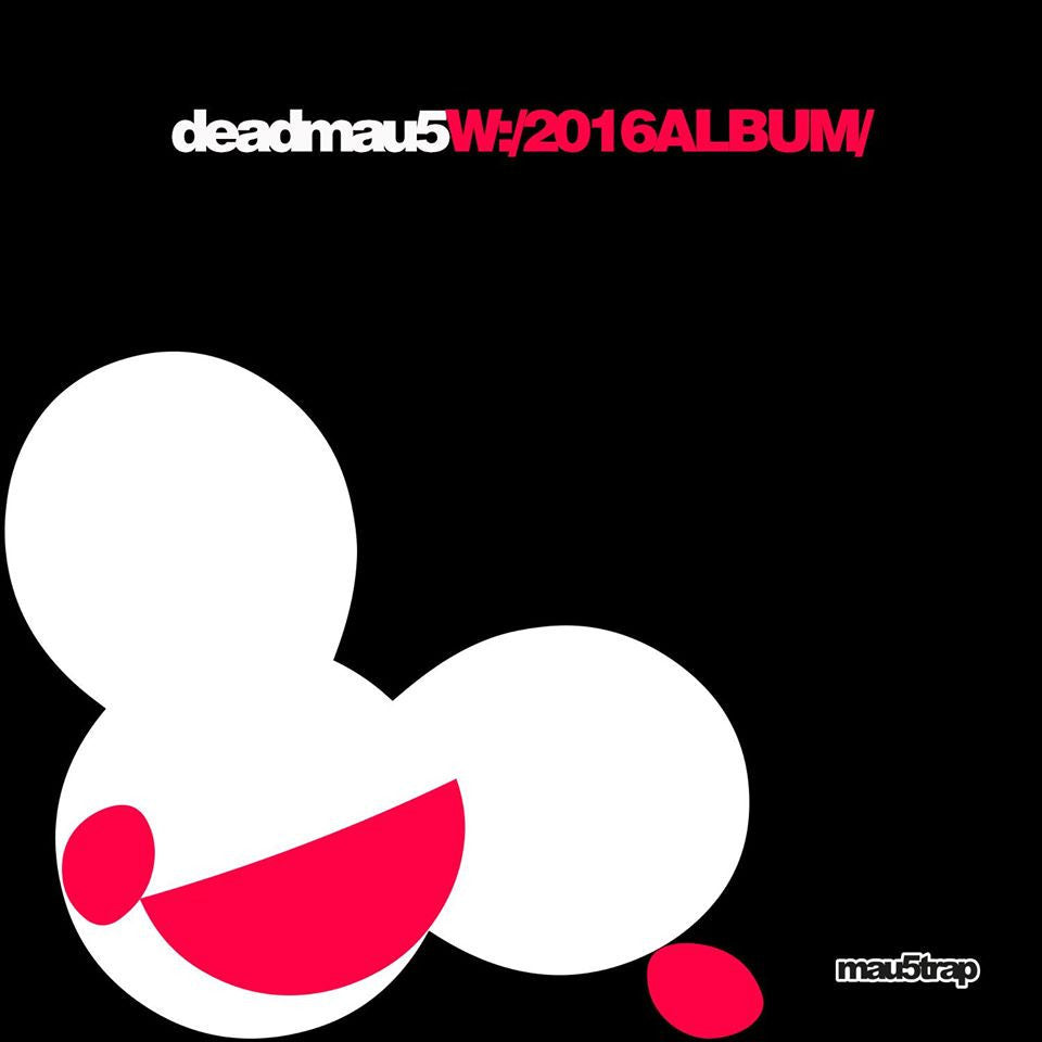 Deadmau5 - W 2016ALBUM: Gatefold Music (Hitchin's Independent Record Shop - Vinyl Records and Accessories)