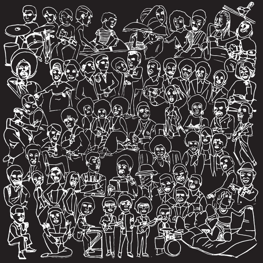 Romare - Love Songs Part Two: Gatefold Music (Hitchin's Independent Record Shop - Vinyl Records and Accessories)