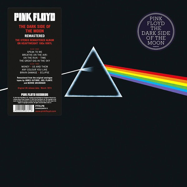 Pink Floyd - The Dark Side Of The Moon: Gatefold Music (Hitchin's Independent Record Shop - Vinyl Records and Accessories)