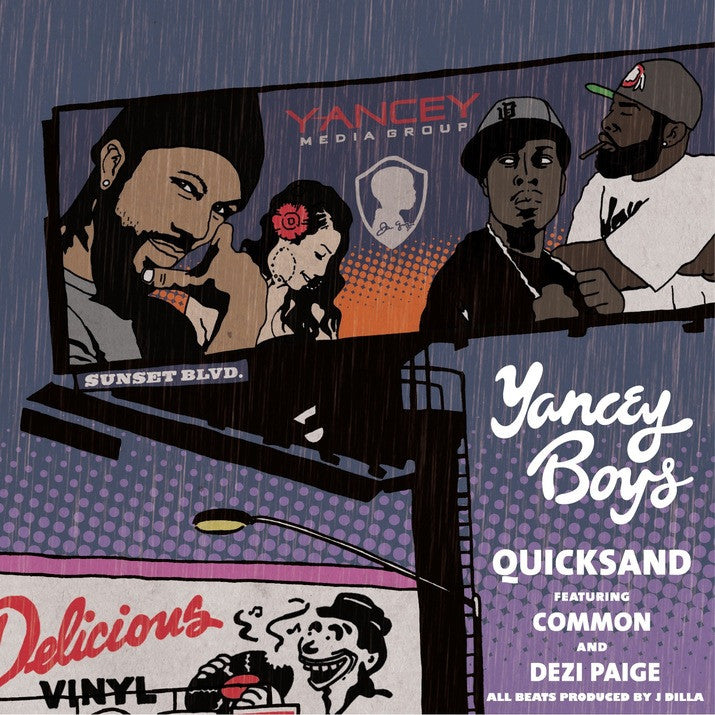 Yancey Boys - Quick Sand: Gatefold Music (Hitchin's Independent Record Shop - Vinyl Records and Accessories)