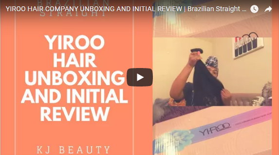 YIROO HAIR COMPANY UNBOXING AND INITIAL REVIEW, Brazilian Straight Hair 16 18 20+16 frontal