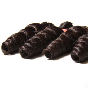 YIROO 7A Loose Wave 1 Bundle deal 100% Human Hair Weave Malaysian/Brazilian Virgin Hair Extensions