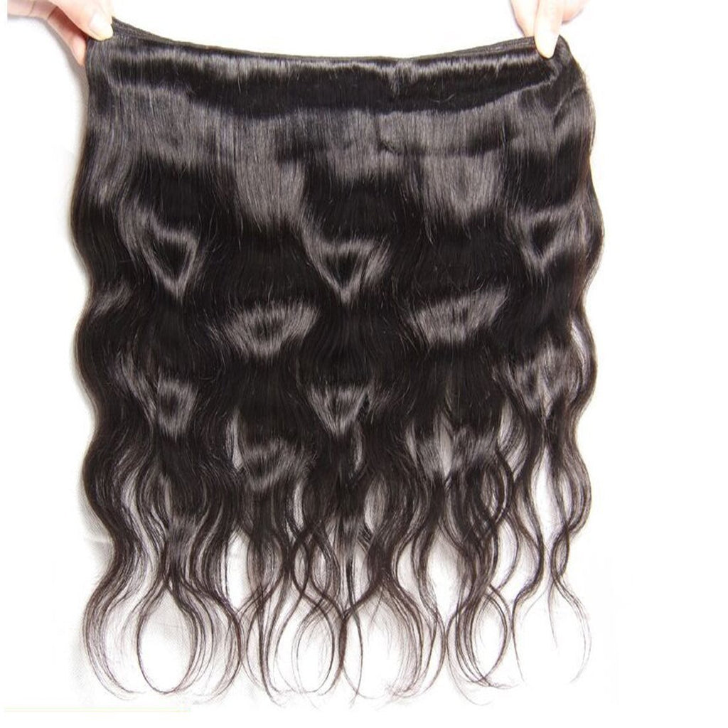 YIROO 7A Body Wave Virgin Hair Weave 1 Bundle 100% Virgin Human Hair Extensions