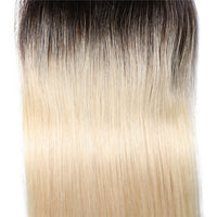 Ombre Color T1B/613 Lace Closure 4*4 Straight Lace Closure, Virgin Human Hair-Yiroo Hair