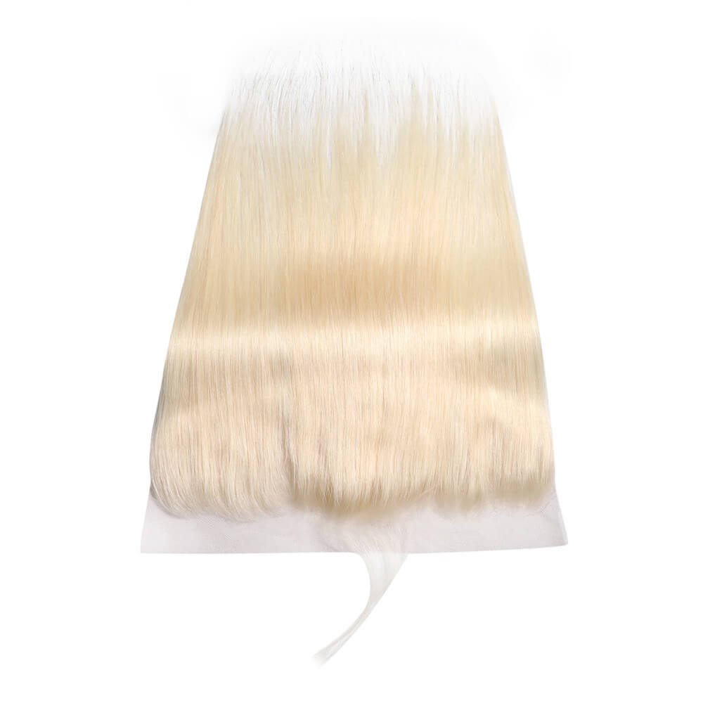 Blonde 613 Color Straight Hair Closure 13*4 Lace Frontal , 100% Human Hair On Deals-Yiroo Hair