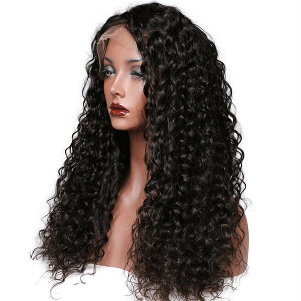 YIROO Jerry Culry Lace Frontal Wig With Baby Hair 8A Remy Brazilian Human Hair Wigs 130%&150% Destiny