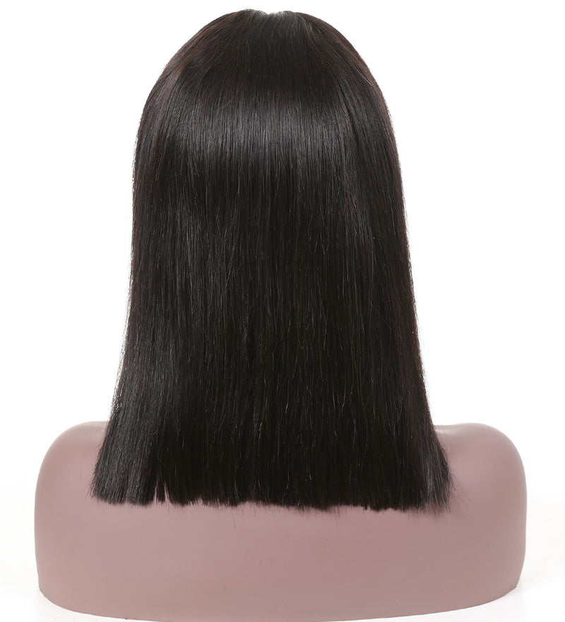 Yiroo Bob Wig Straight Short Lace Front Human Hair Wigs For Black Women Remy Hair Pre Plucked With Baby Hair