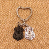 Bernese Mountain Dog Pendant Keychain - boopetclub