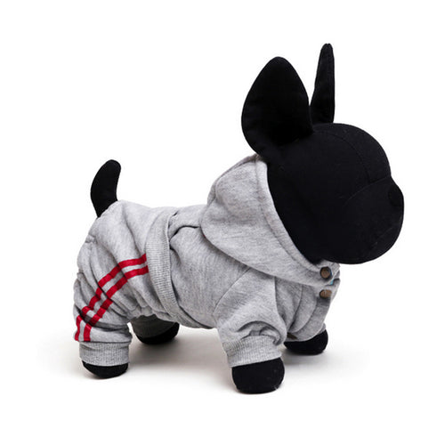 2 Colors Pet Sport Clothes, Dog and Cat Hoodies - boopetclub