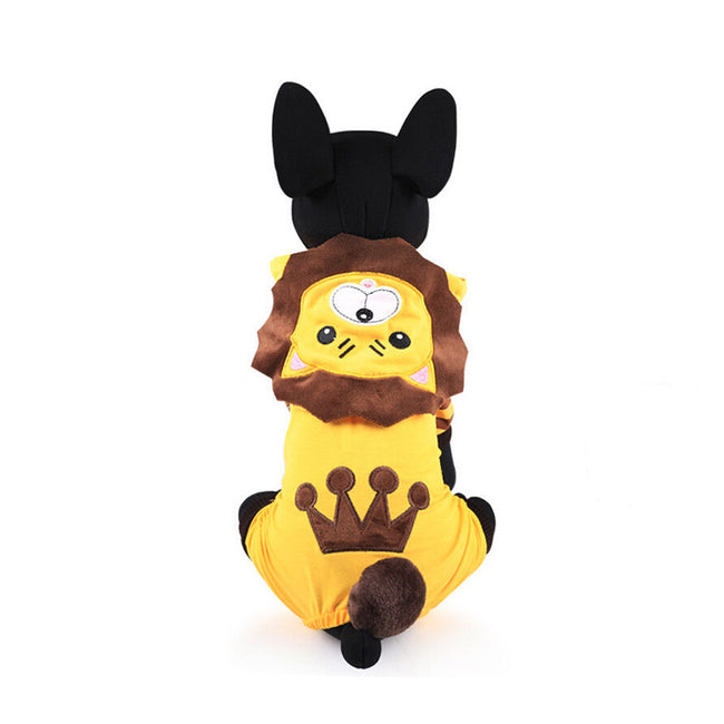 Lion Pet Clothes, Dog and Cat Costume - boopetclub