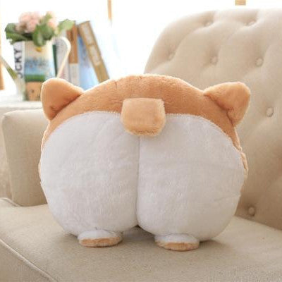 Large Corgi Butt with ears Hand Warmer Cushion Pillow - boopetclub