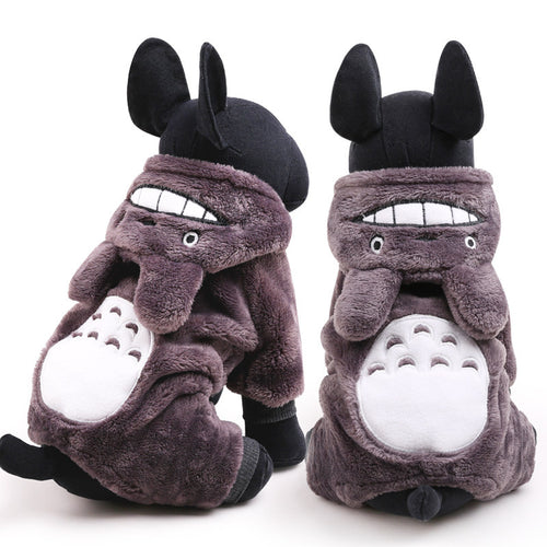 Totoro Pet Costume, Dog Hoodie, Dog and Cat Clothes - boopetclub