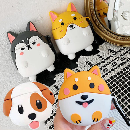 Cute Corgi Pillow Case Cushion Cover