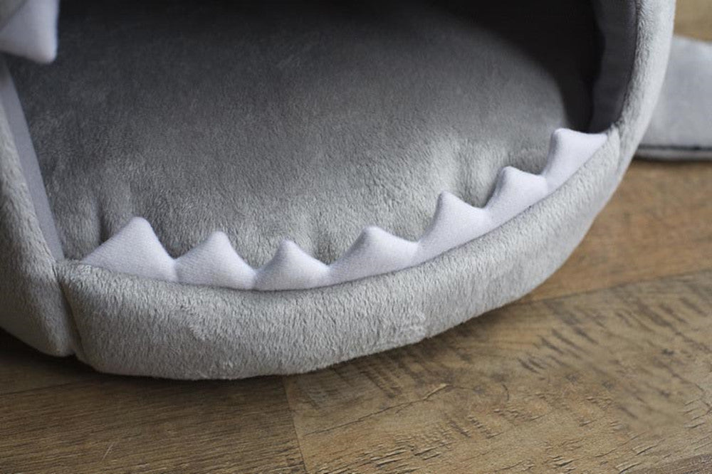 Shark Dog and Cat Bed, Pet Bed House - boopetclub