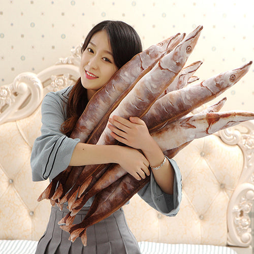 50 cm 3D Fish Pillow Plush Soft Doll - boopetclub
