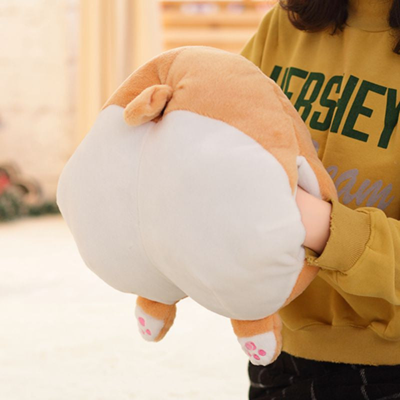 Large Corgi Butt Hand Warmer Cushion Pillow - boopetclub