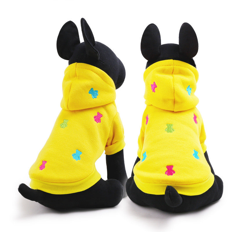 Bear Pet Hoodie, Dog and Cat Clothes - boopetclub