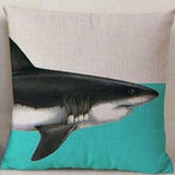 Animal Pillowcase / Shark Whale Dinosaur Elephant Cushion Pillow Case - boopetclub