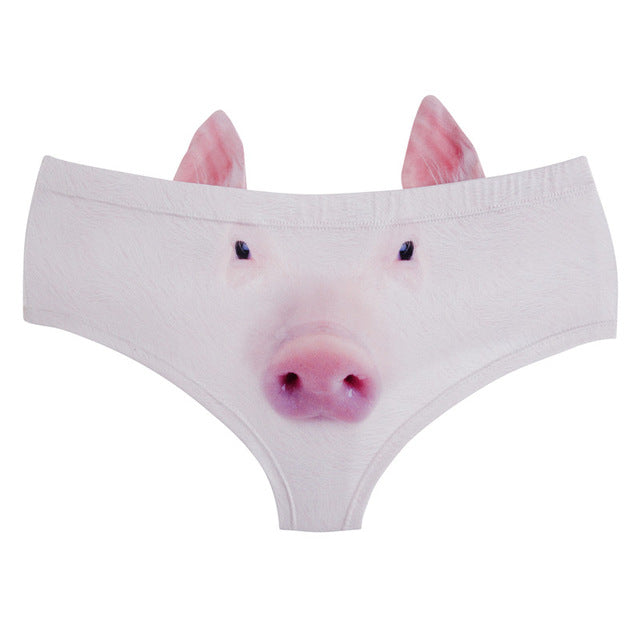 cute pig underwear pig panties with ears boopetclub