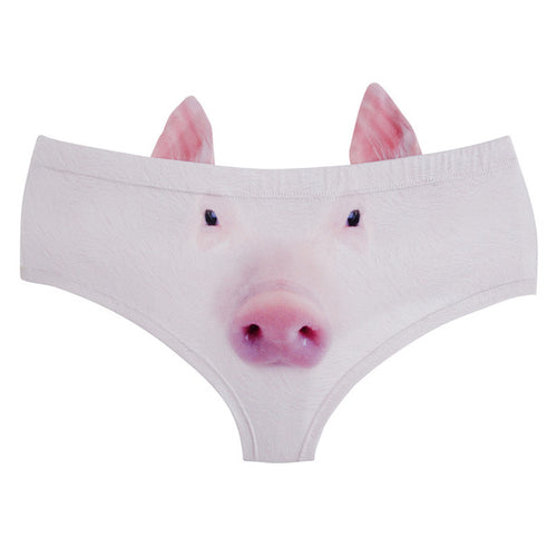 Cute Pig Underwear / Pig Panties with ears - boopetclub