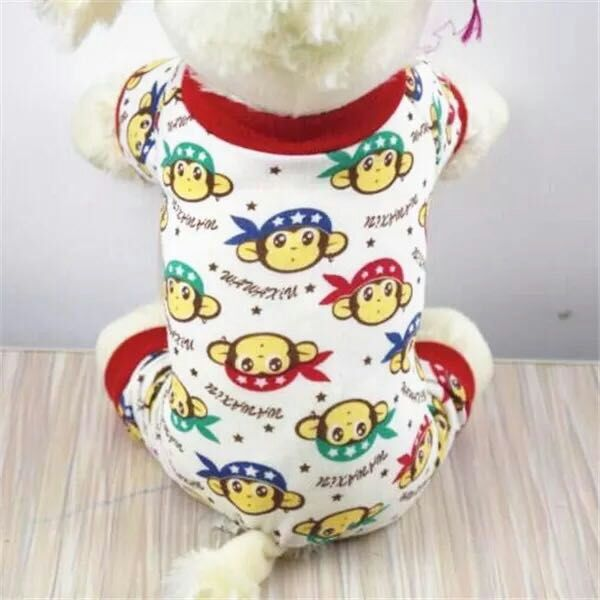 Dog Pajamas, Pet Jumpsuit Dog and Cat Clothes For Small / Medium Dog - boopetclub