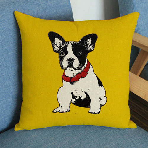 French Bulldog Dog Pillow Cushion Pillow Case - boopetclub