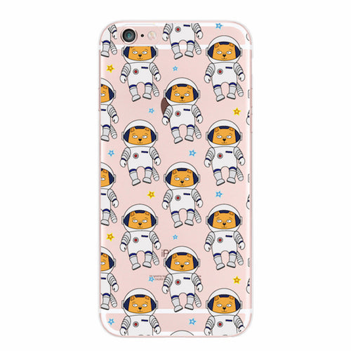 Astronaut Cat iPhone Cases / Samsung Galaxy Cases - boopetclub