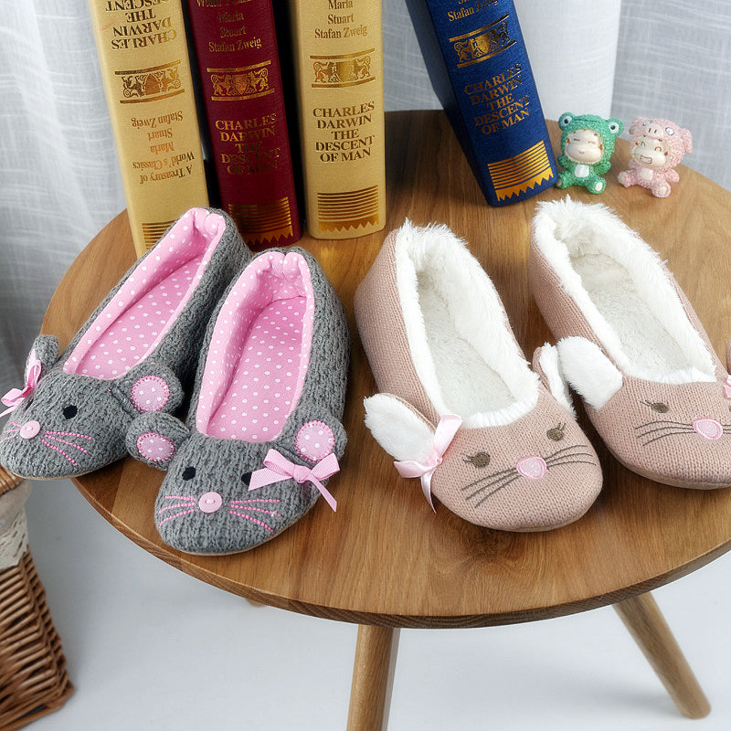 Mouse Animal Slippers Shoes - boopetclub