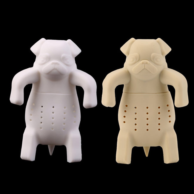 Pug Dog Silicone Tea Infuser Animal Tea Strainer - boopetclub