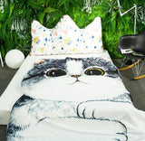 Cat Blanket Bedding - boopetclub