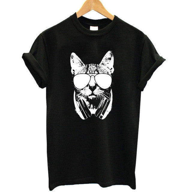 Meow Cat Lover Women T-shirt - boopetclub