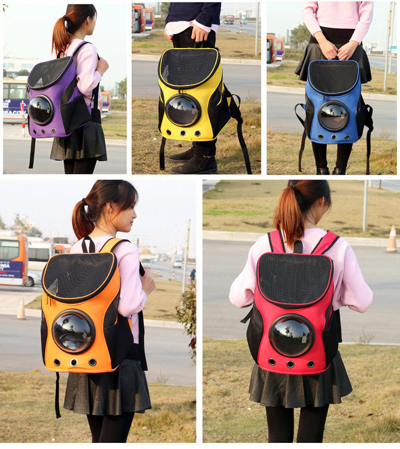 Pet Carrier Space Backpack Space Dog and Cat Capsule Bag - boopetclub