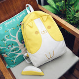 Corgi Bag Canvas Backpack with Coin Purse - boopetclub