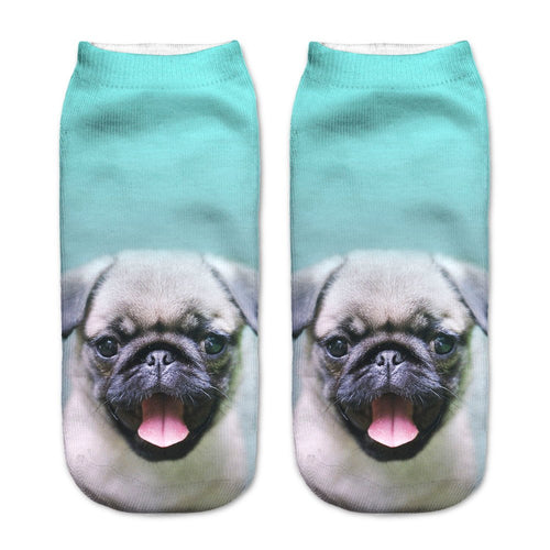 Pug Dog Women Socks - boopetclub