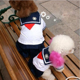 School Uniform Pet Costume, Dog and Cat Clothes, Dog Halloween Costume - boopetclub