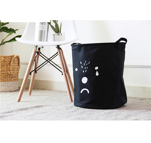 Cute Bear Dog Laundry Basket Storage - boopetclub
