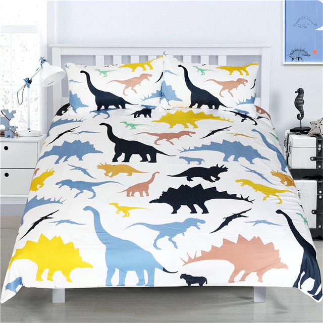 Dinosaur Animal Bedding Set (3 Pieces) - boopetclub