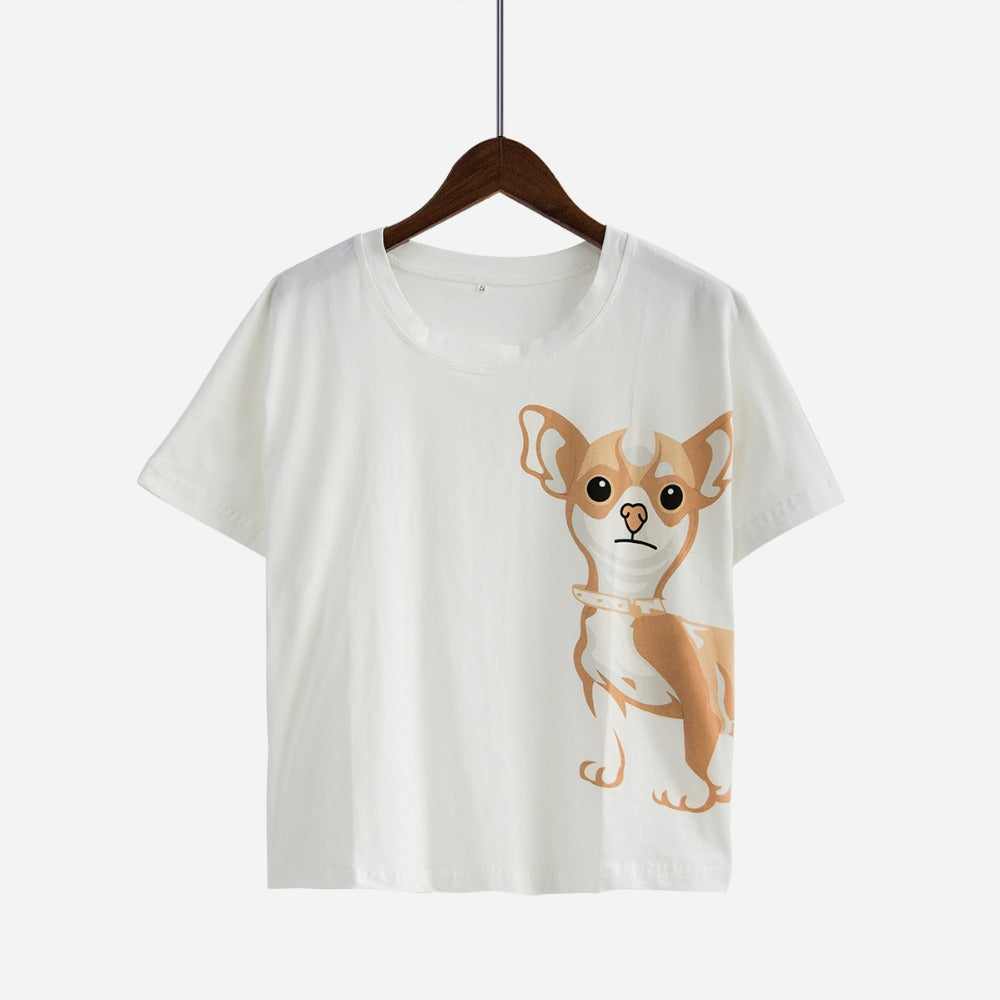 Chihuahua Dog Women Pajamas (Top & Shorts) - boopetclub